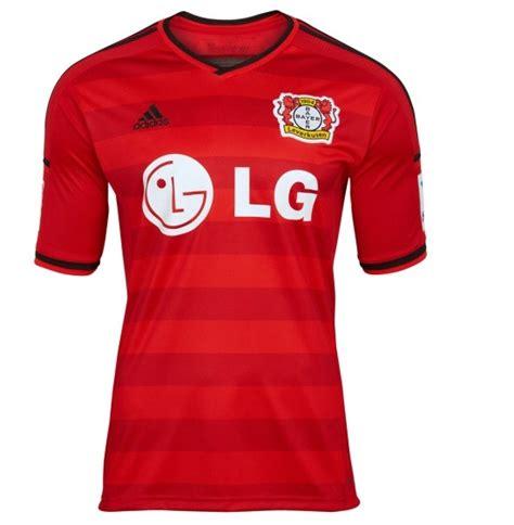 Jersey Go Bayern Leverkusen Home new bayer leverkusen home kit 14 15 adidas bayer 04 jersey 2014 2015 football kit news new