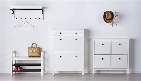 Shoe Drawers Hemnes Collection Hemnes Hallway White