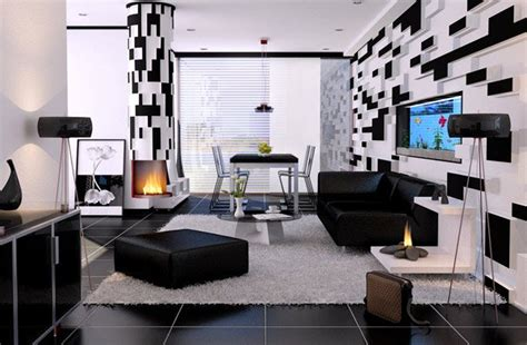 white and black room 20 modern contemporary black and white living rooms home