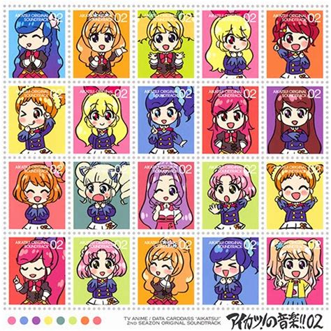Aikatsu Season 2 Versi 1 Sweet Top 1 Aikatsu Album N Journey