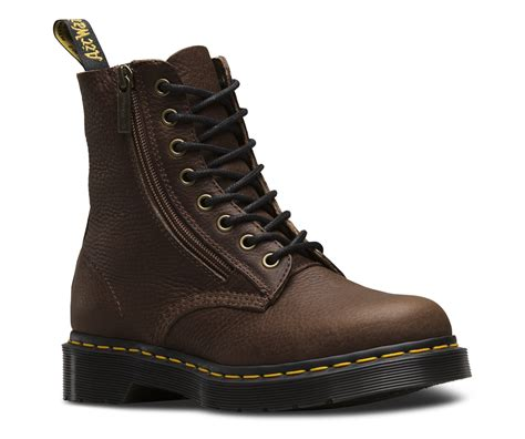 Dr Martens Boots 8217 pascal w zip grizzly s boots official dr martens store