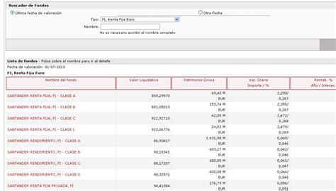 buscador fondos banco santander webs de los bancos idea secundaria