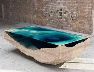 rock coffee table abyss table