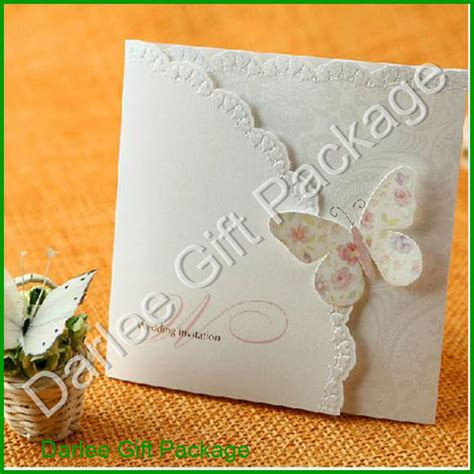 Handmade Invitation Card - butterfly wedding invitation cards indian wedding