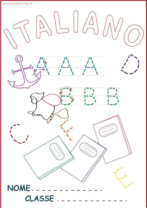 copertina da copertine per quaderni da scaricare matematica e italiano