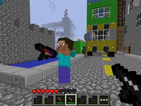 mods for minecraft pe image mcpe gun mod minecraft pe