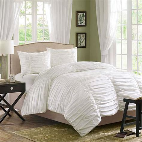 White Comforter King Set by Park Delancey Comforter Set King White 7198135 Hsn
