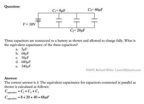 capacitor circuit practice problems capacitor circuit practice problems 28 images sfa016 answer free sat ii physics practice