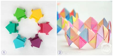 Craft With Origami Paper - free coloring pages 8 cool origami paper crafts for