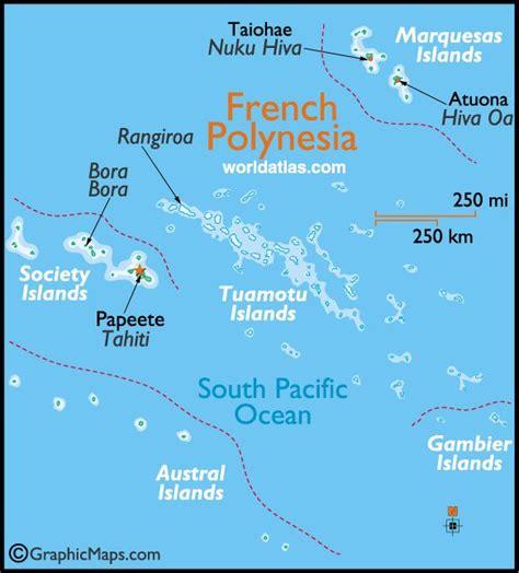 polynesia map polynesia maps