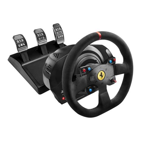 volante pc thrustmaster t300 alcantara edition volant pc