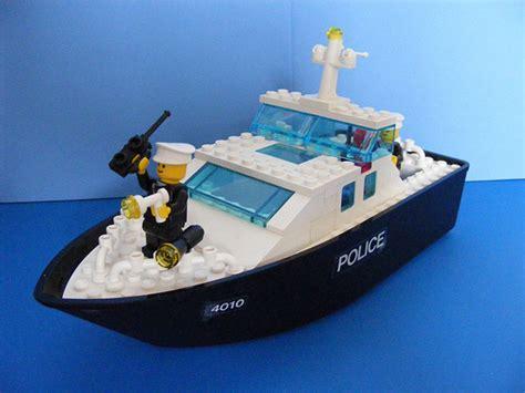 lego rescue boat lego 4010 police rescue boat 1987 flickr photo