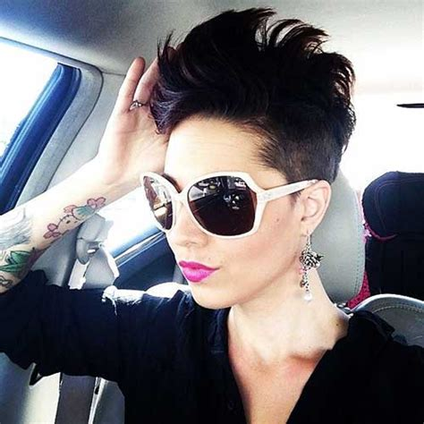 coupe de cheveux femme half hawk 10 best mohawk pixie cut hairstyles 2018 2019 most popular hairstyles for 2019