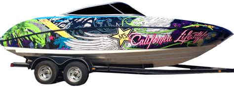vvivid vinyl boat wrap solid and graphic boat wraps vivid wraps