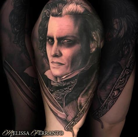 sweeney todd tattoo sweeney todd by ferranto tattoos