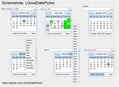 swing date picker swing which one is the best java datepicker stack
