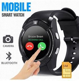 V8 Smart Band Calling Clock With Smar Diskon stopwatches sport watches v8 sporty smart phone