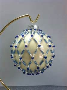beaded ornament cover patterns beaded ornament cover v 225 noce z kor 225 lků