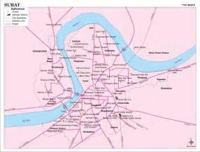 ahmedabad city map satellite surat city map surat india mappery