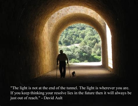 The Light At The End Of The Tunnel by Light In The Tunnel Quotes Quotesgram