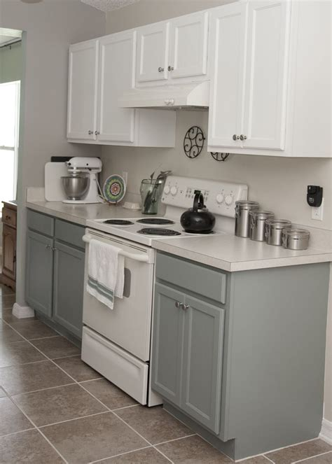 kitchen remodel centsational style gray kitchen cabinets with white appliances kitchen and