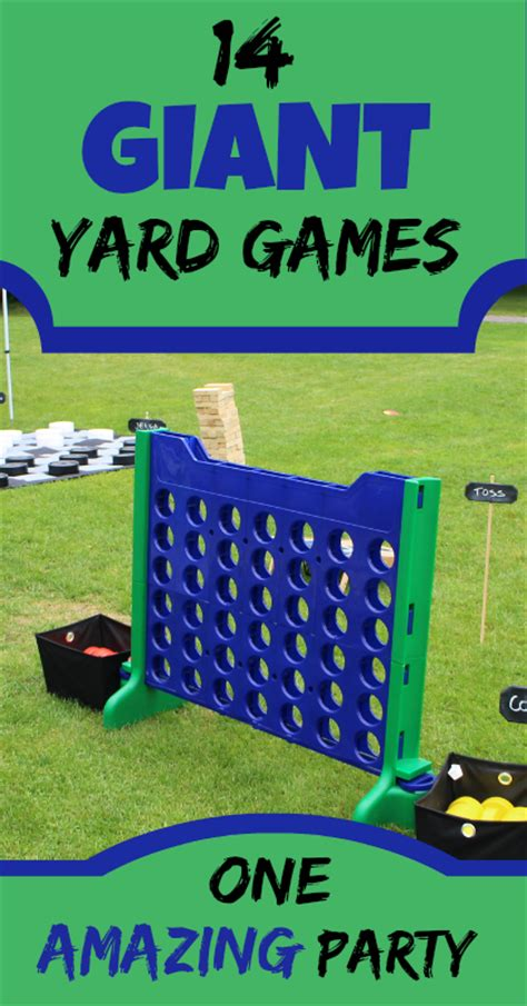 giant backyard games 14 giant yard games for the best party ever live green natural