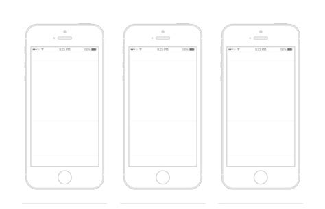 iphone templates the gallery for gt iphone outline template