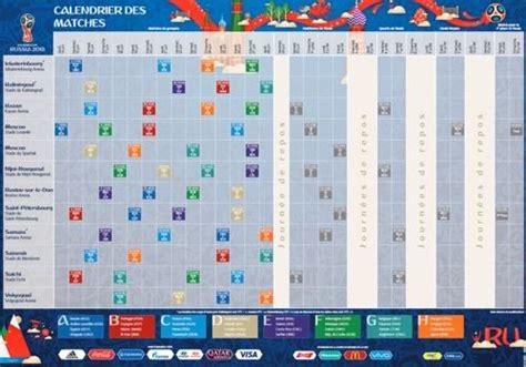 Coupe Du Monde 2018 Calendrier T 233 L 233 Charger Calendrier De La Coupe Du Monde 2018 224