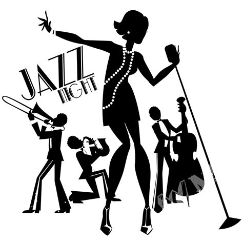 Custom Wall Stickers Words jazz night musical wall decal home decor in india by