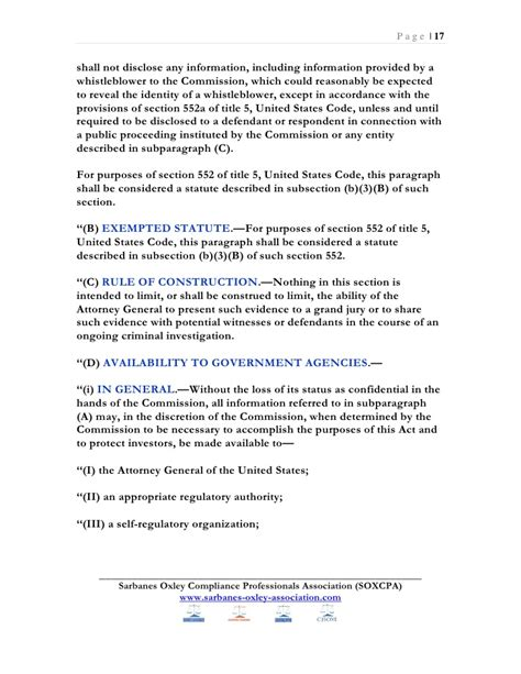 5 usc section 552a sarbanes oxley ebook