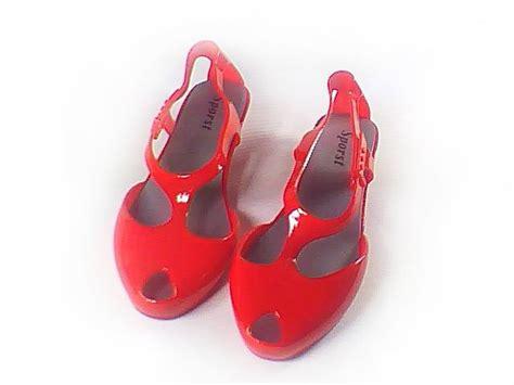 Yellow Black Jelly Flat Shoes 38 2011fulfilment sandbeach new arrival summer fashion high