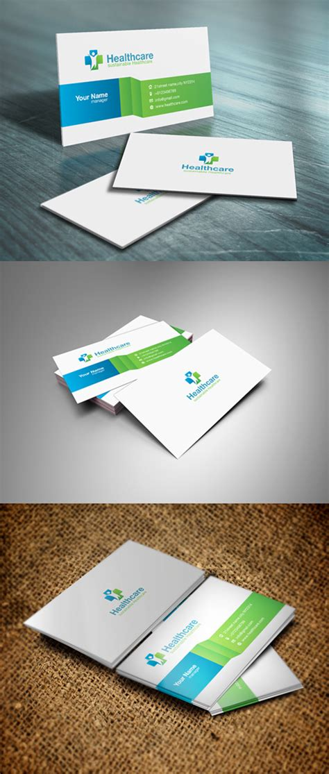 health business card templates psd health business card templates psd images card design