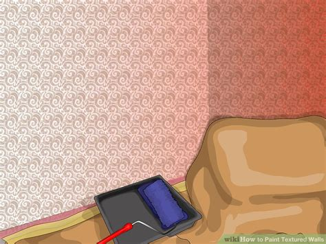 textured walls 4 easy ways to paint textured walls with pictures