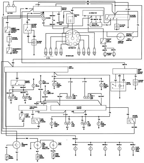 1983 cj7 dash wiring diagram 1983 get free image about