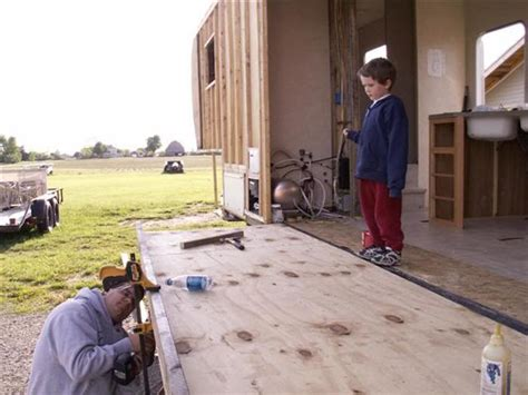 Rv Floor Construction by How This Built His Own Diy Rv Slide Out