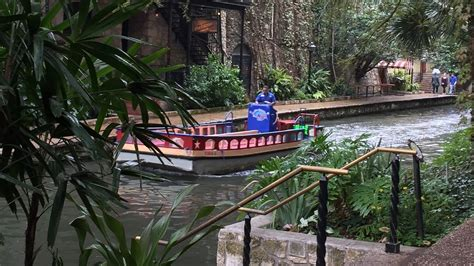 san antonio riverwalk boat san antonio river walk boat cruise tour youtube