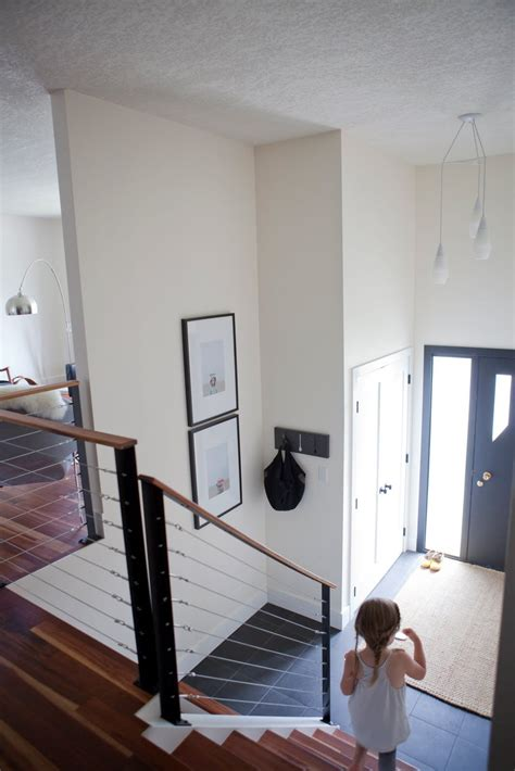 my foyer split level entryway think about bumping out the door to
