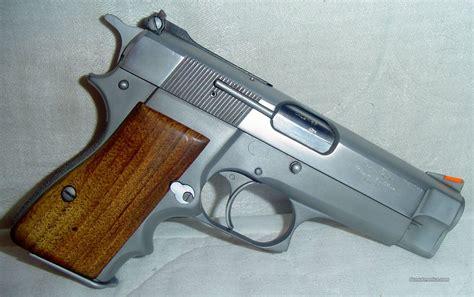 Hi Chrome belgium made browning hi power silver chrome c for sale