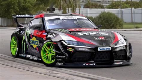 jz powered  toyota supra drift car  awesome