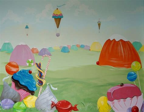 candyland wall mural 17 best images about s candyland nursery on pool noodles custom wall decals