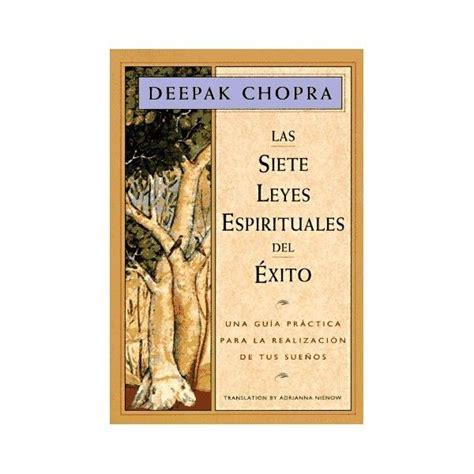 las 7 leyes espirituales del exito libro