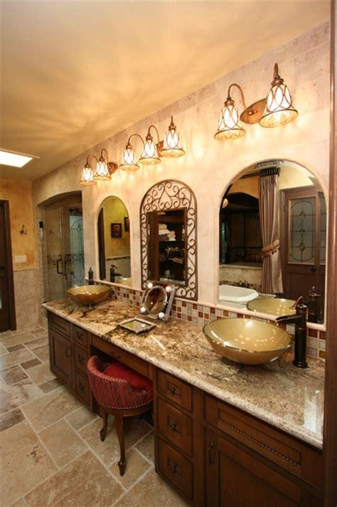 tuscan master bath traditional bathroom  metro