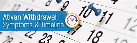mood swings weed withdrawal ativan withdrawal symptoms timeline what to know