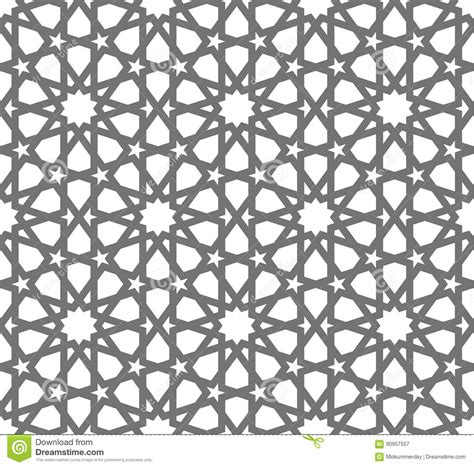 pattern ornament font islamic vector geometric ornaments traditional arabic art