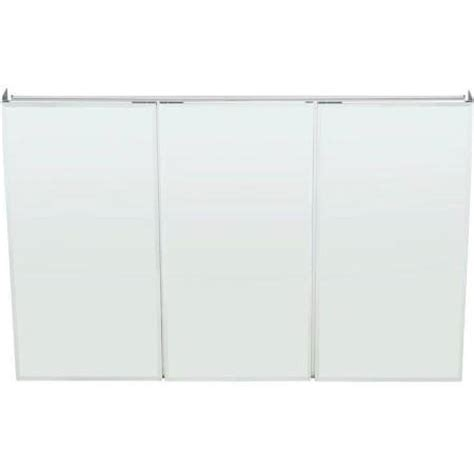 48 Inch Medicine Cabinet by Pegasus Sp4590 31 Inch By 48 Inch Tri View Beveled Mirror