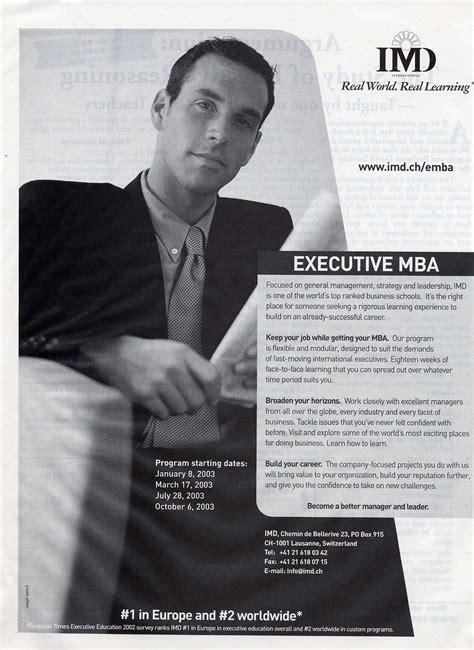Executive Mba Imd Switzerland by Makley Image Archive Images