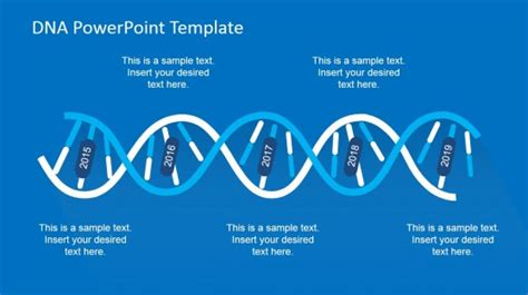 dna template dna strands powerpoint template slidemodel