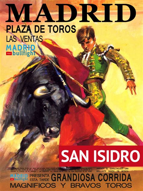 Calendã Corridas 2017 San Isidro Festival 2016