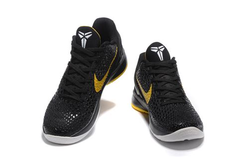 basketball shoes sale cheap nike zoom 6 black yellow basketball shoes on