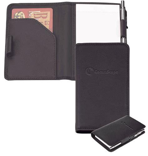 Memo Leather Card Holder Pen 1 memo pad custom memo pad leather memo pad